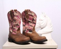 Cheap Camo Cowgirl Boots