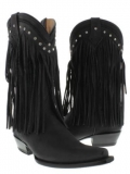 Black Cowgirl Boots Cheap