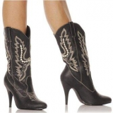 Cheap Black Cowgirl Boots