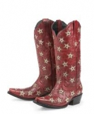 Cheap Red Cowgirl Boots