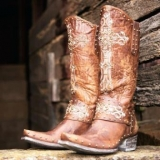 Cheap Studded Cowgirl Boots
