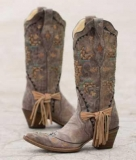 Fringe Cowgirl Boots Cheap
