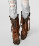 Wide Calf Cowgirl Boots Cheap