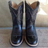 Black Cowgirl Boots for Kids