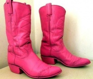 Hot Pink Cowgirl Boots for Kids