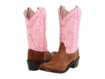 Pink Cowgirl Boots for Kids