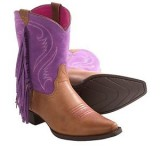 Purple Cowgirl Boots for Kids