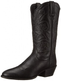 Black Cowgirl Boots Round Toe