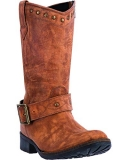 Tall Round Toe Cowgirl Boots
