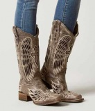 Cowgirl Boots with Crosses