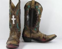Buy Cowgirl Boots with Cross