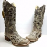 Cowgirl Boots with Cross Design