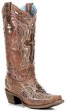 Womens Cowgirl Boots with Crosses
