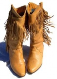 Cute Fringe Cowgirl Boots