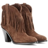 Fringe Cowgirl Boots with Heels