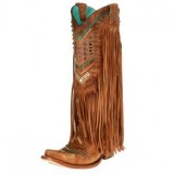 Fringe Cowgirl Boots