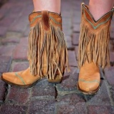 Youth Fringe Cowgirl Boots