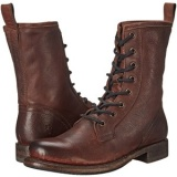 Short Dark Brown Combat Boots