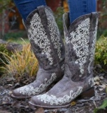 Corral Embroidered Cowgirl Boot