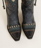Embroidered Cowgirl Boots Snip Toe