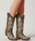 Embroidered Cowgirl Boots for Women