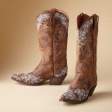 Cowgirl Boots Embroidered