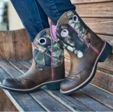 Extra Wide Calf Cowgirl Boots Plus Size