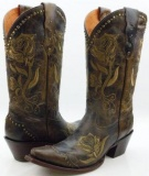 Extra Wide Calf Cowgirl Boots for Women