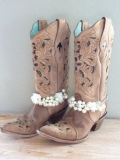 Plus Size Wide Calf Cowgirl Boots