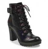 Heeled Combat Boots