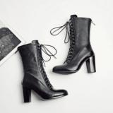 Combat Boots Heels