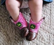 Baby Cowgirl Boots Pink