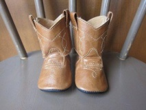 Infant Cowgirl Boots Size 3