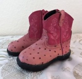 Infant Cowgirl Boots Size 4