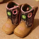Infant Pink Cowgirl Boots
