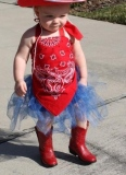 Redd Infant Cowgirl Boots