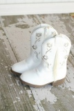 White Infant Cowgirl Boots