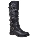 Knee High Boots With Wide Calf Fitting