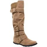 Knee Length Boots Wide Calf