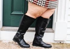 Women's Wide Calf Knee High Boots