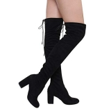 Thigh High Boots With Wide Calf