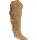 Fringe Boots Knee High