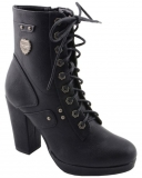 Women's Lace To Toe Boots