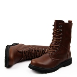 Lace Up Rubber Boots Size 12