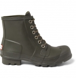 Men Lace Up Rubber Boots