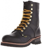 Rubber Lace Up Boots Men