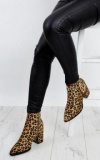 Ankle Boots Leopard Print