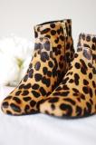 Cheap Leopard Ankle Boots