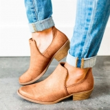 Women's Low Cut Slip On Work Boots