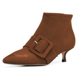 Low Heel Party Boots For Females